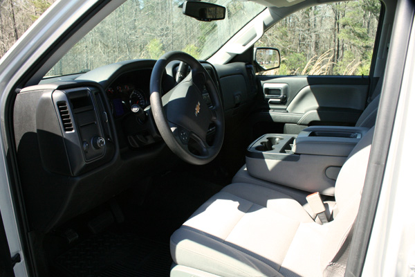 Vehicle #1300 interior