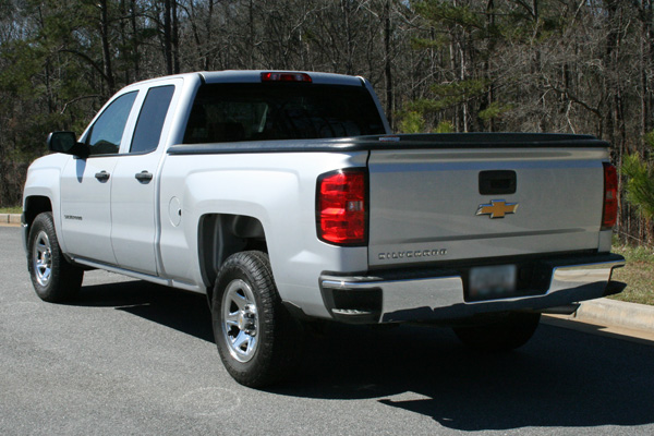 Vehicle #1300 rear