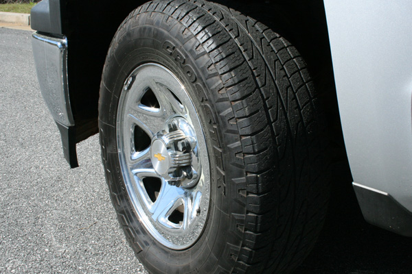 Vehicle #1300 tire