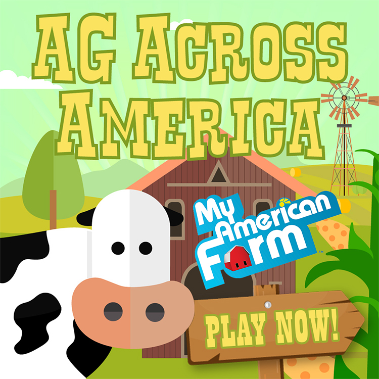 New 'Ag Across America' Game and App Debut