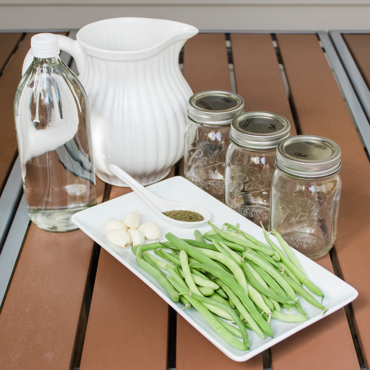 Pickled Dill Green Beans