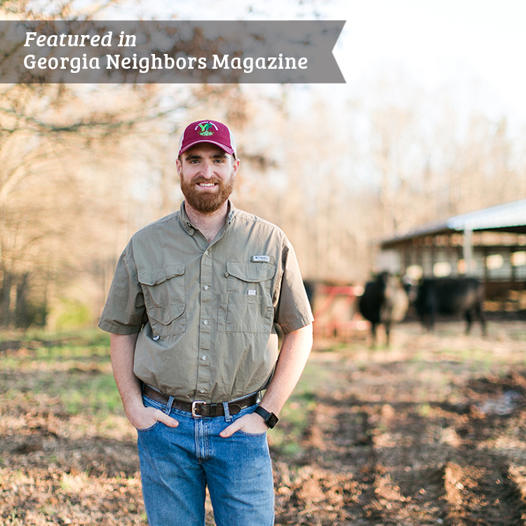Young Farmer Jesse Patrick, Bridges the Gap Between Past and Present