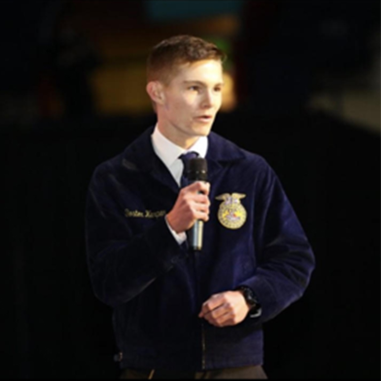Meet Doster Harper, FFA North Region State Vice President