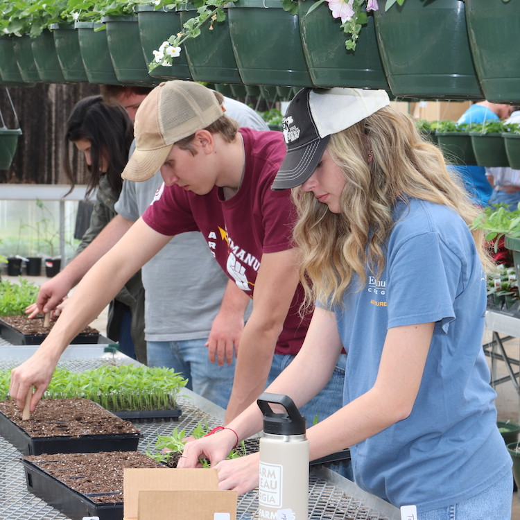 Ag program sprouts at Emmanuel College