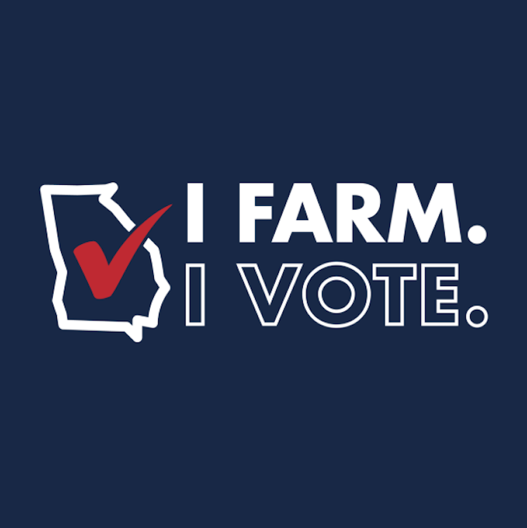 GFB encourages Georgians to vote with I Farm. I Vote. campaign