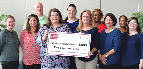 Crisis Line and Safe House Donation
