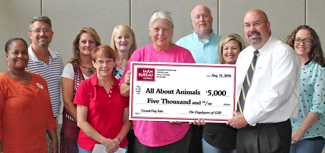 All About Animals Donation 2016