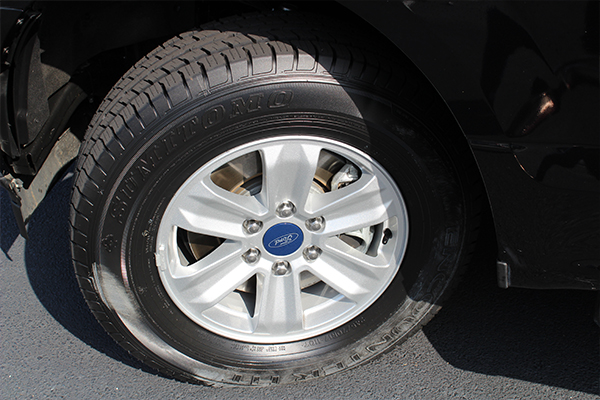 Vehicle #0363 tire