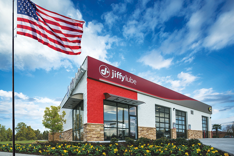 Jiffy Lube building