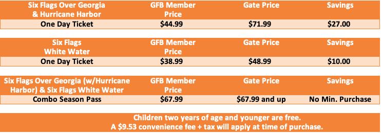 Membership - Six Flags Over Georgia / White Water - Georgia Farm Bureau