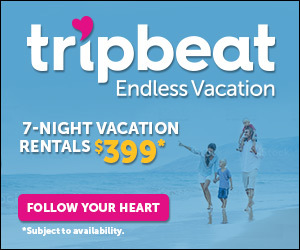 TripBeat 7night vacation rentals for $399